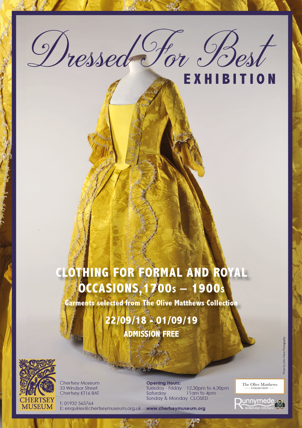 Dressed for Best Exhibition Poster