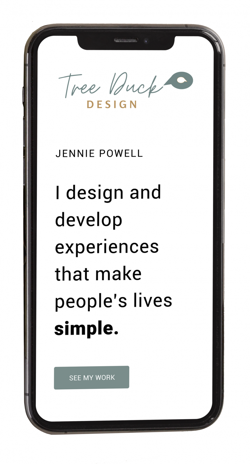 I design and develop experiences that make people's lives simple