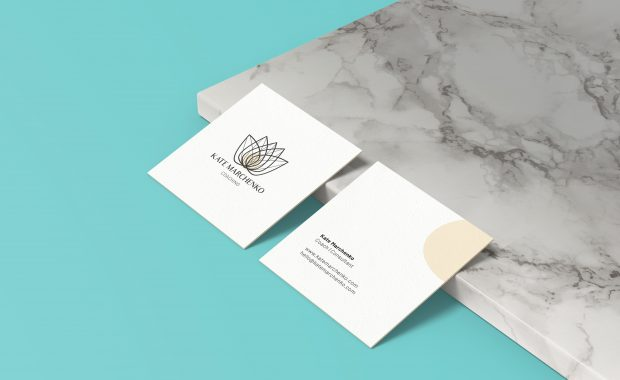 Kate Marchenko Coaching Business Cards