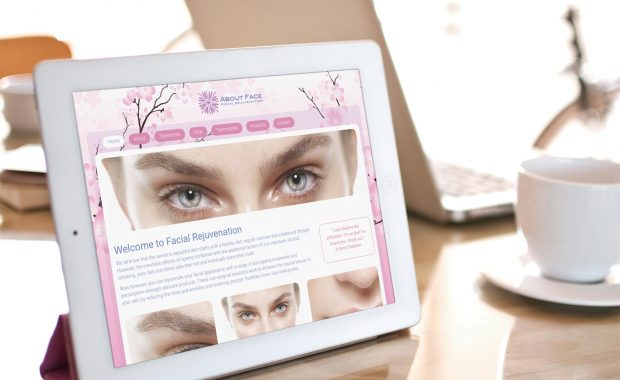About Face Solutions Website & Branding