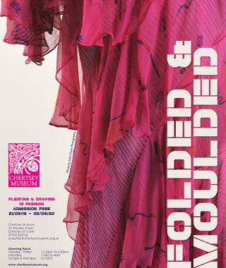 Folded & Moulded Exhibition poster